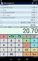 Screenshot of Office Calculator Pro
