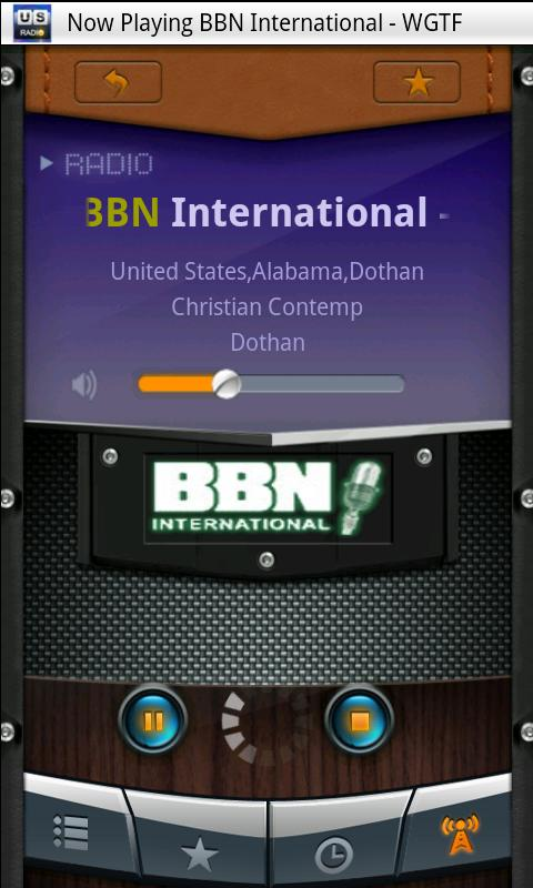 U.S. Radio - screenshot