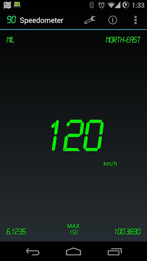 Speedometer Screenshot
