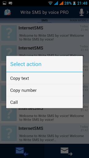 【免費通訊App】Write SMS by voice PRO-APP點子