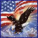 Memorial Day Eagle Sparkle LWP logo