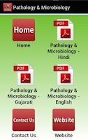 Screenshot of Pathology & Microbiology
