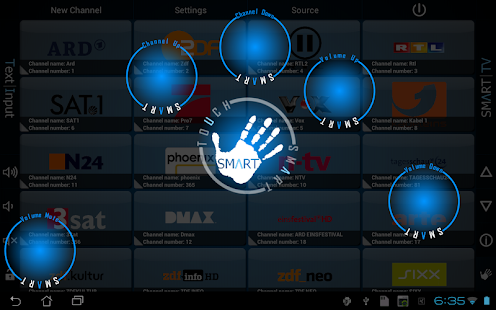 Smart TV Remote Tab - screenshot thumbnail