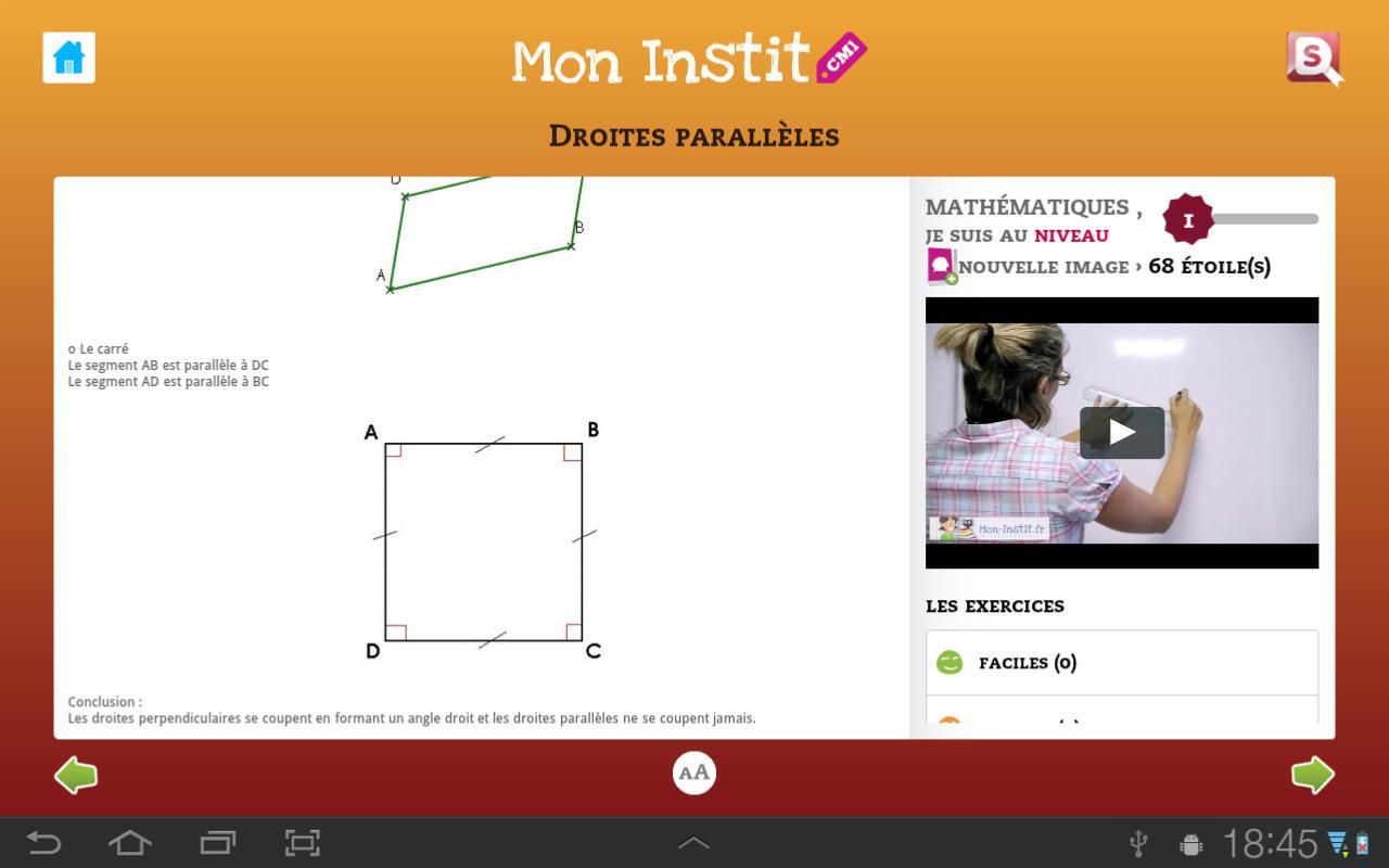 CM1 Mon Instit - screenshot