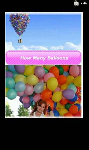 How many balloons