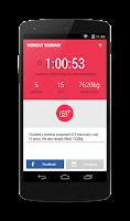Screenshot of Gym Journal - fitness diary