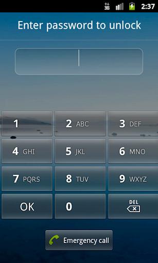 Screen Lock Reset