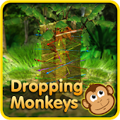Dropping Monkeys 3D Board Game