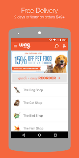 Wag.com- screenshot thumbnail
