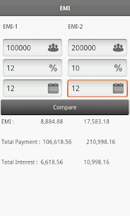 EMI Calculator- screenshot thumbnail