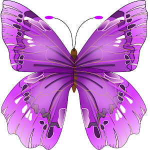 Buterfly Flower for DoodleText