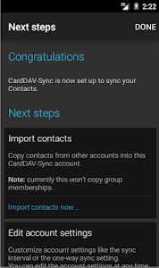 CardDAV-Sync v0.4.9