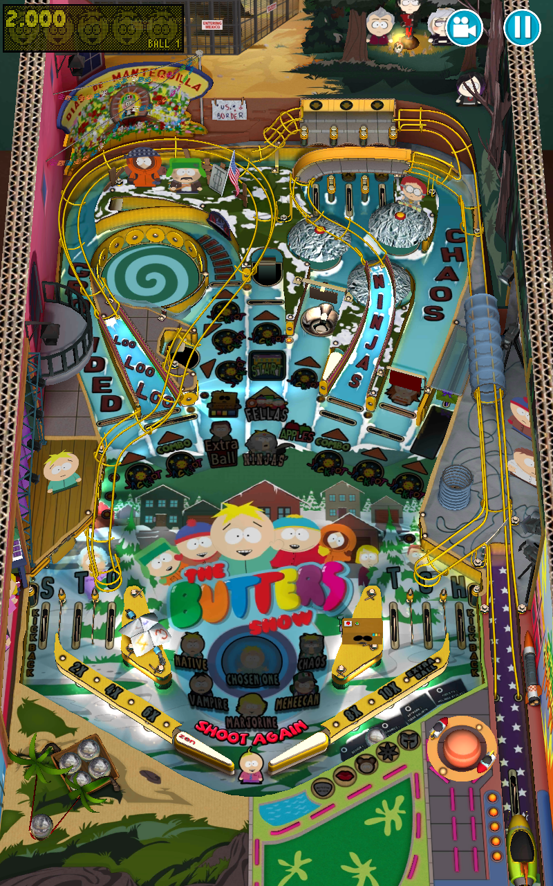 South Park™: Pinball screenshot #3