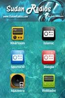 Screenshot of Sudan Radio stations - Beta