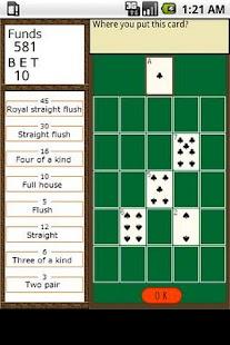 Crossword gambling card game