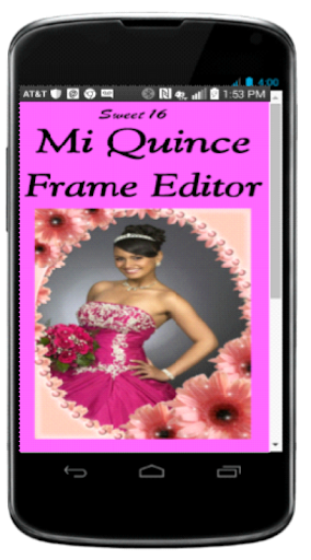 Quinceanera Frame Editor