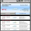 YR Weather Forecast  App icon