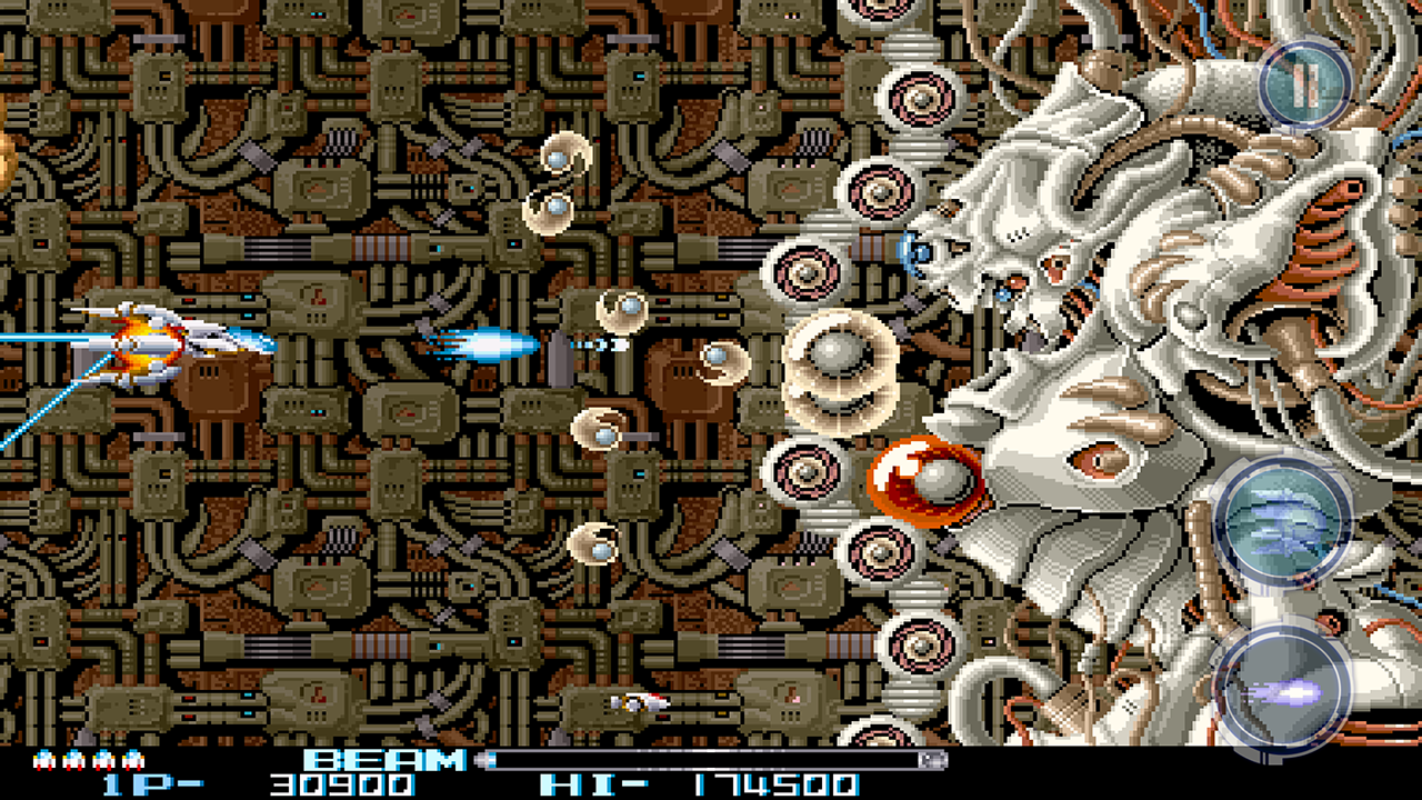 R-TYPE II - screenshot
