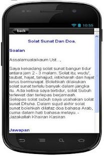 Cara Solat Tahajjud- screenshot thumbnail