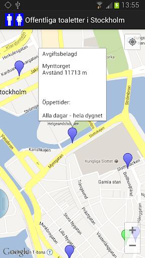 Public toilets in Stockholm