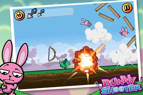 Bunny Shooter Best Free Game - screenshot