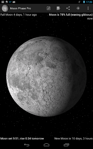 Moon Phase Pro - Warez Mobile Forum - iPhone, Android