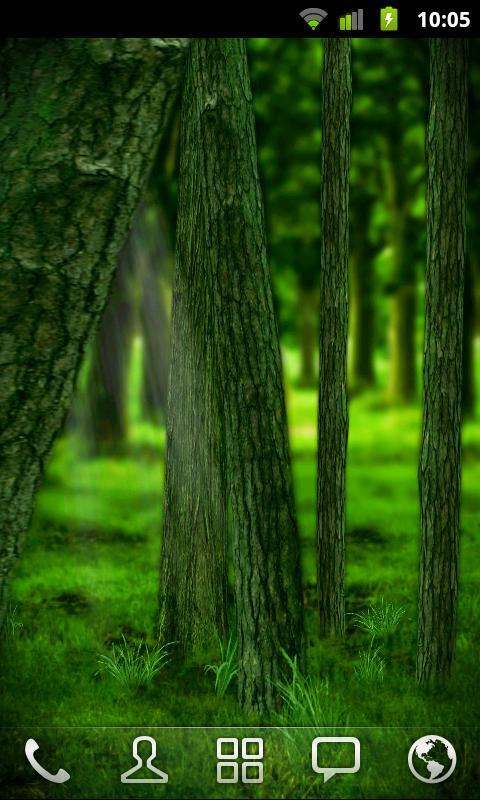 RealDepth Forest Free LWP- screenshot