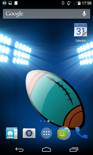 Miami Football Live Wallpaper