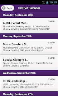 Central DeWitt School App- screenshot thumbnail