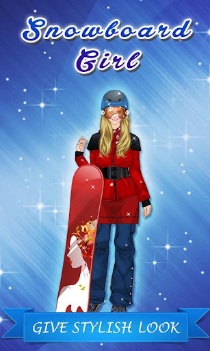 Snowboard Girl Makeover Game