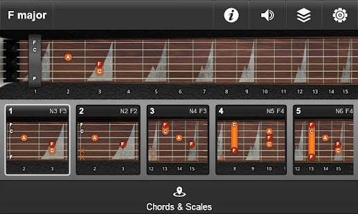 JamBox Chords & Scales - screenshot thumbnail
