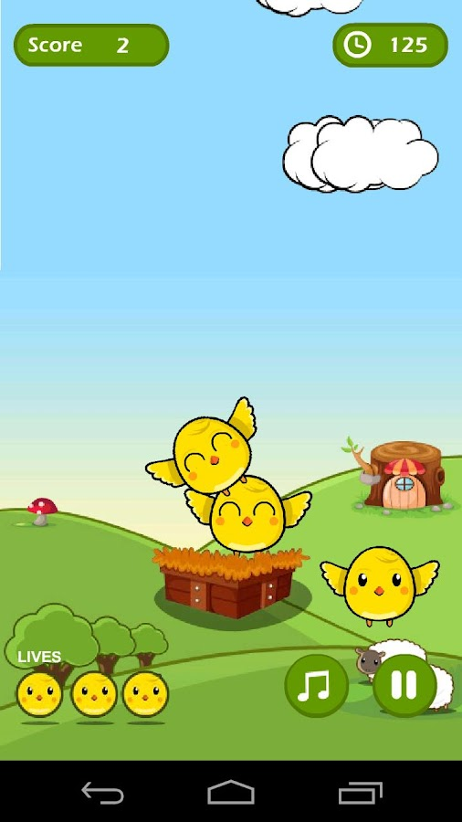 Chicken Jump - screenshot