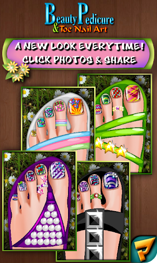 Beauty Pedicure Nail Art Salon