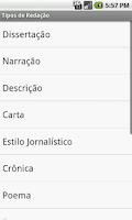 Screenshot of Manual de Redação