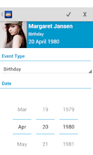 Birthdays - Free - screenshot thumbnail