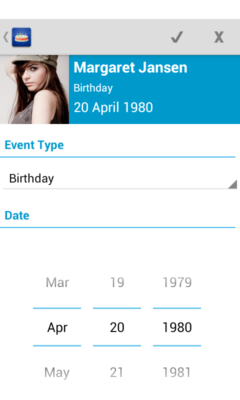 Birthdays - Free - screenshot