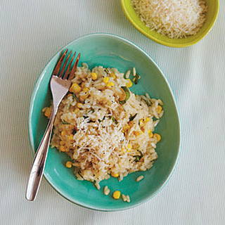 Risotto with Corn and Basil Recipe