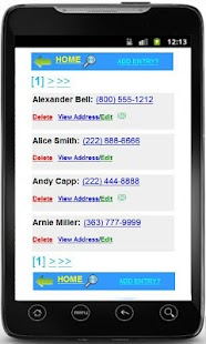 Phonebook + Backup Contacts - screenshot thumbnail