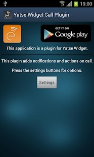 Yatse Call Plugin - screenshot thumbnail
