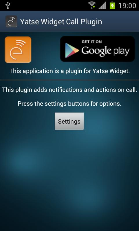 Yatse Call Plugin - screenshot