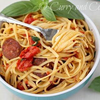 Roasted Tomato and Sausage Pasta
