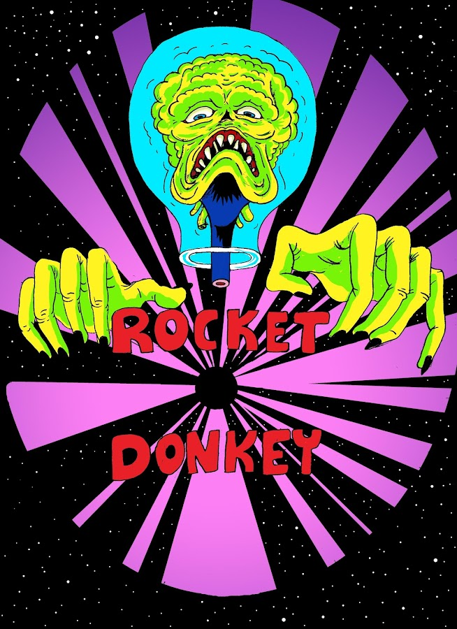 Indie Game Rocket Donkey- screenshot