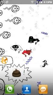 Sperm-o Interactive Wallpaper