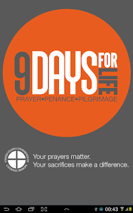USCCB: 9Days for Life - screenshot thumbnail