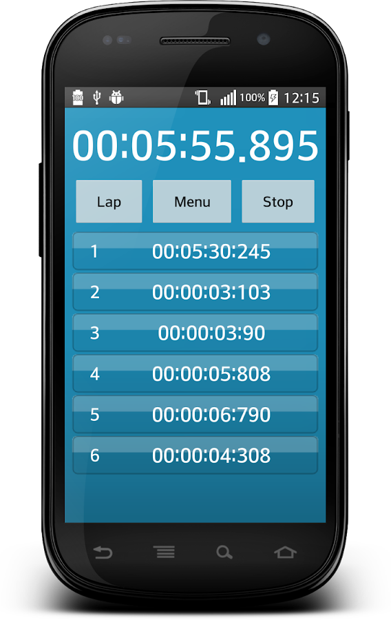 Timer and Stopwatch- screenshot