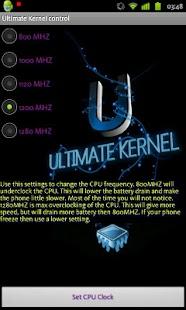 Ultimate Kernel Control- screenshot thumbnail