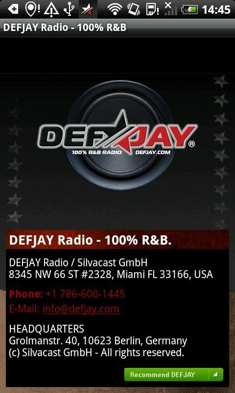 DEFJAY – 100% R&B - screenshot
