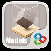 Models GO Launcher Theme