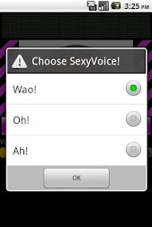 Sexy voice generator APK screenshot thumbnail 3