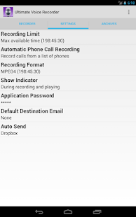 Ultimate Voice Recorder- screenshot thumbnail